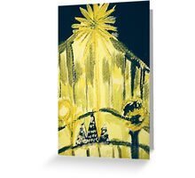 """Star on 4th Avenue"" Greeting Card"