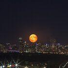 Super Moon over Denver by Jarrett720