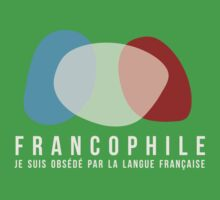 Francophile (masculin) Kids Clothes