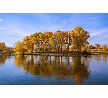 Addenbrooke Park in Fall Photographic Print