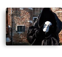 Carnival of Venice: Ghost - tell me everything Canvas Print