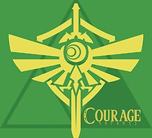 Triforce of Courage by xDaylon