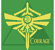 Triforce of Courage Photographic Print