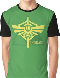 Triforce of Courage Graphic T-Shirt