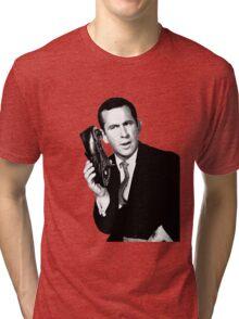 Get Smart- Don Adams Tri-blend T-Shirt