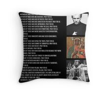 Litany of Our Lady of Czestochowa Throw Pillow