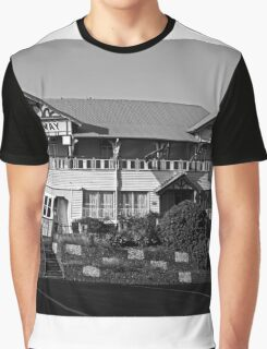 Railway Hotel Graphic T-Shirt