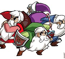 Legend of Santa : FourSacs by Cptninja