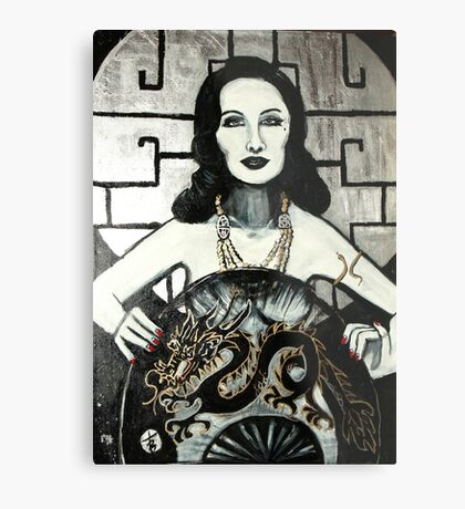 Grand Amour by Theresa Bouche Metal Print