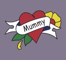Mummy tattoo kids t-shirt Kids Tee