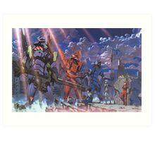 Neon Genesis Evangelion - Eva Series Art Print
