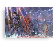 Neon Genesis Evangelion - Eva Series Metal Print