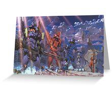 Neon Genesis Evangelion - Eva Series Greeting Card