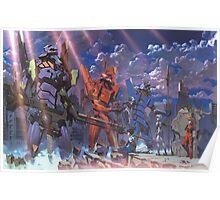 Neon Genesis Evangelion - Eva Series Poster