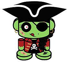 Pirate Zombio'bot 1.0 Photographic Print