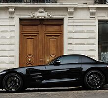 Mercedes-Benz SLS AMG by celsydney
