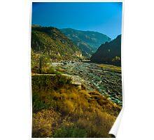 Abbottabad Landscape view Poster