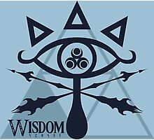 Triforce of Wisdom Photographic Print