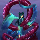 Dancing Dragon by Petra van Berkum