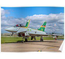Eurofighter Typhoon F.2 ZJ936/QO-C Poster