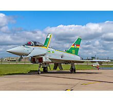 Eurofighter Typhoon F.2 ZJ936/QO-C Photographic Print