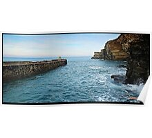 """ Harbour Entrance to Portreath"" Poster"