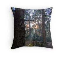 Shining Woodlands Throw Pillow