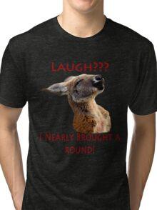 Kangaroo Tee Tri-blend T-Shirt