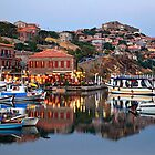 The beauty of Molyvos reflected by Hercules Milas