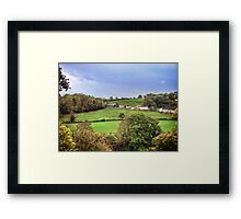 Earls Orchard Framed Print