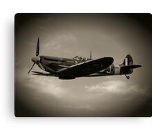 Mark 5b Spitfire W3644 Canvas Print