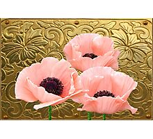Palace Poppies ~ A Royal Display Photographic Print