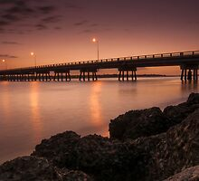 Bribie Bridge by Josh Gudde