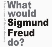 What would Sigmund Freud do? 2 by silentstead