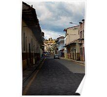 Cuenca Street Scene Poster