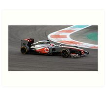 Jenson Button Art Print
