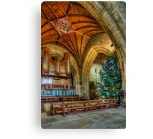 Cathedral Christmas Canvas Print
