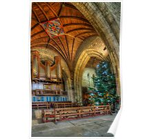 Cathedral Christmas Poster