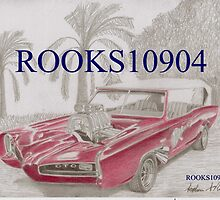 1966 Monkeemobile CLASSIC CAR ART PRINT by rooks10904