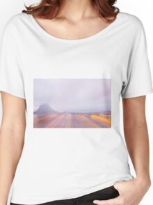 Lugano in dusk Women's Relaxed Fit T-Shirt
