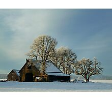 Another Day On The Farm ~ Snow ~ Photographic Print