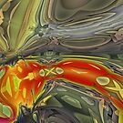 graffiti abstract 9 by DARREL NEAVES