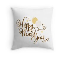 Happy New Year 2 Throw Pillow
