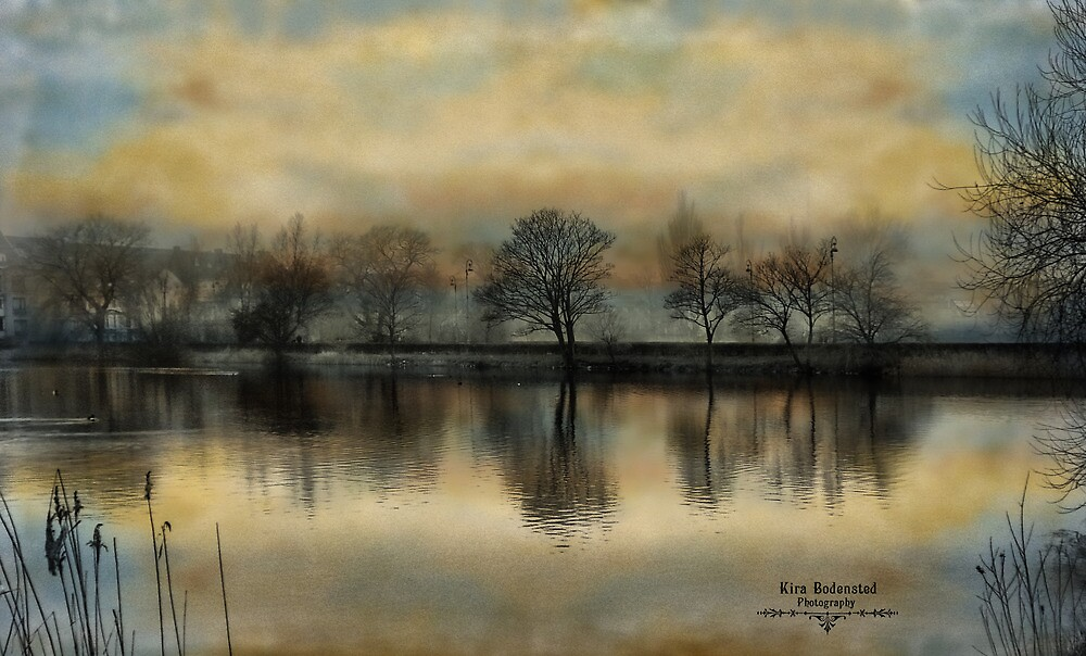 Winter Lakes by © Kira Bodensted