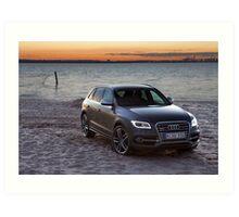 Audi SQ5 Art Print