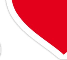 I ♥ BRISBANE Sticker