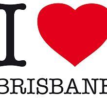 I ♥ BRISBANE by eyesblau