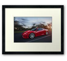 Ferrari Challenge Stradale Framed Print