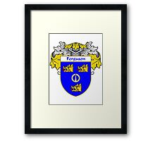Ferguson Coat of Arms/Family Crest Framed Print