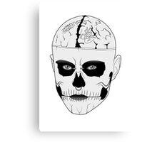 Rick Genest - Zombie boy Canvas Print